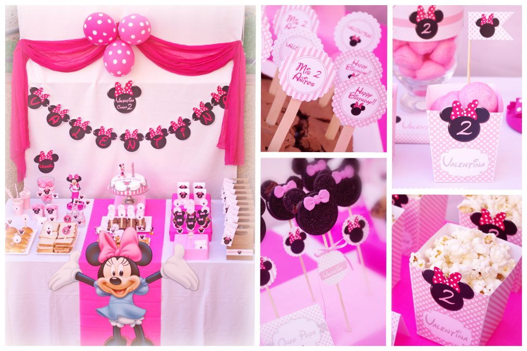 Hazlo especial decoraci n cumplea os de minnie mouse for Decoracion cumpleanos nina
