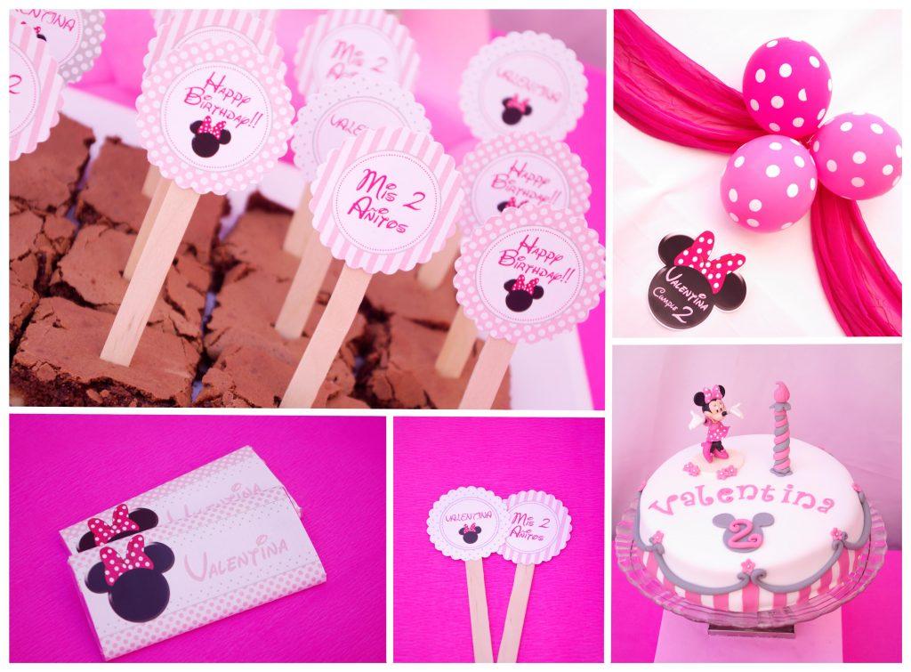 Hazlo Especial Decoración Cumpleaños De Minnie Mouse
