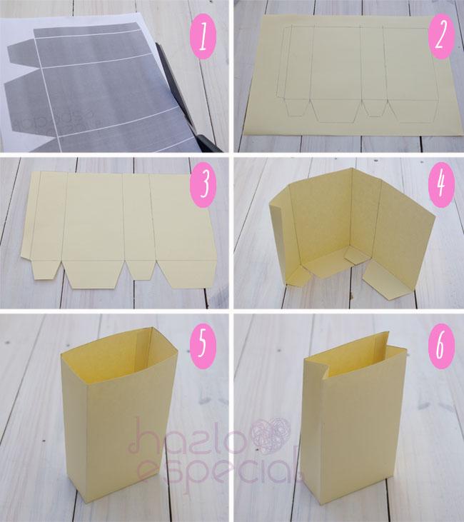 Hazlo especial diy como hacer bolsas de papel - Hacer bolsas de papel en casa ...