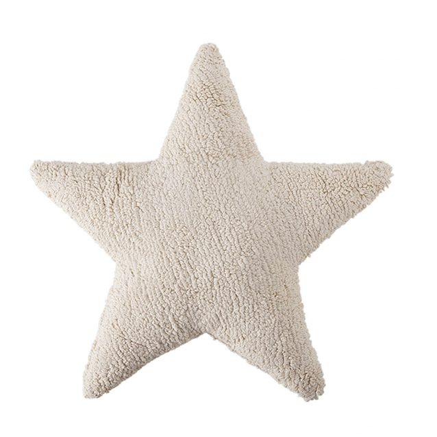 Cojín lavable estrella