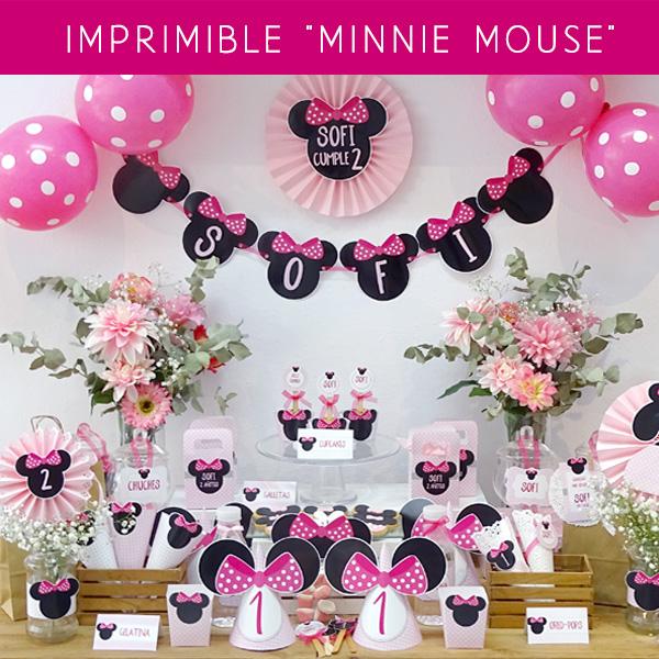 Hazlo Especial Decoracion Cumpleanos De Minnie Mouse